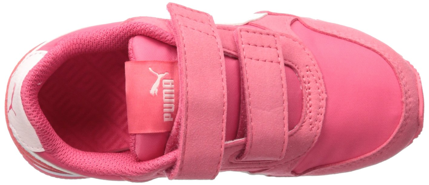 PUMA Unisex ST Runner NL Velcro Kids Sneaker Paradise Pink White, 12.5 M US Little by PUMA (Image #8)