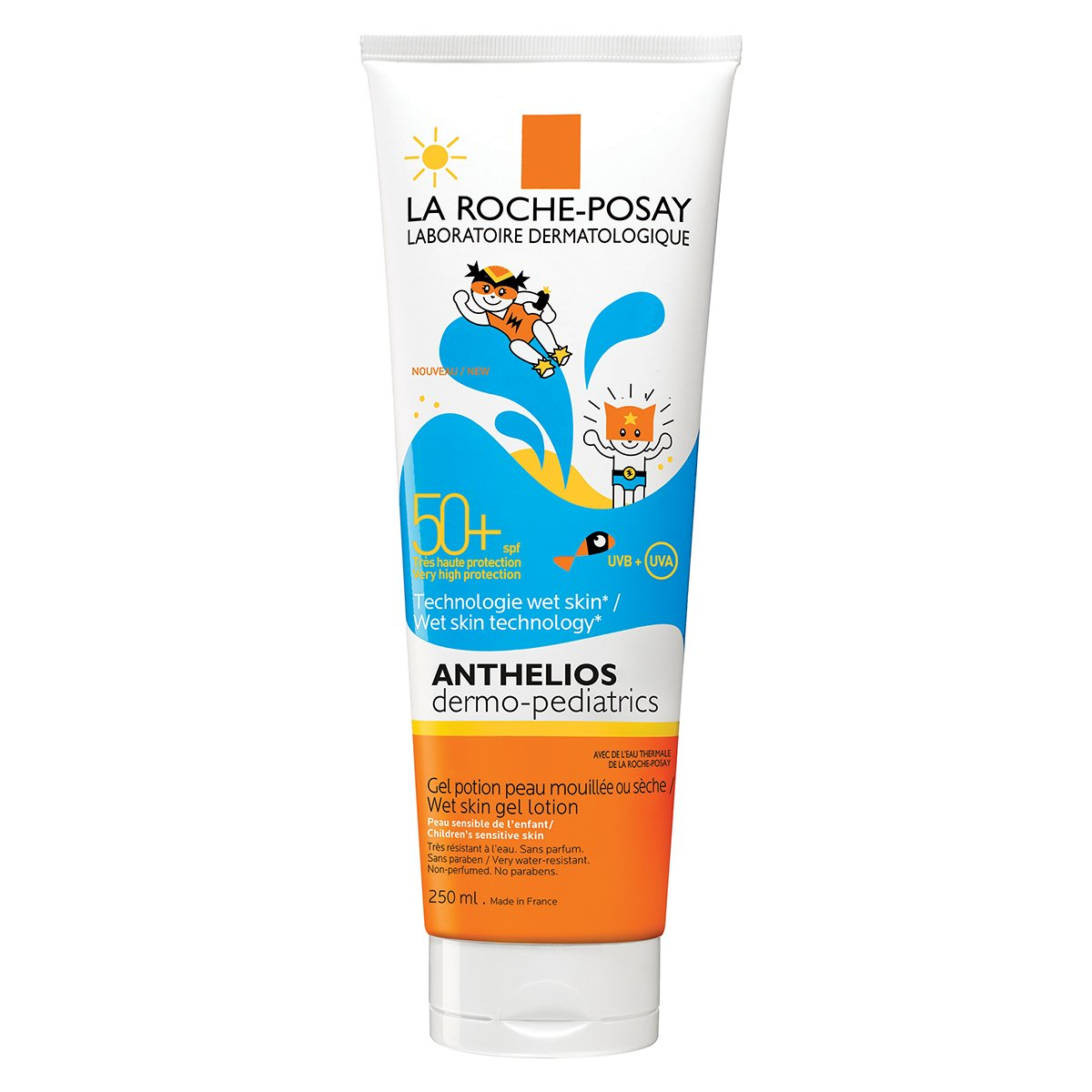 Anthelios Dermo-Pediatrics Gel Wet Skin SPF 50250ml La Roche Posay La roche-posay 67106