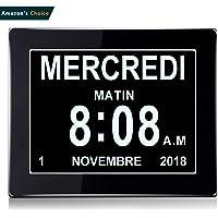 "Oldtime® 8""LCD reloj digital calendario con fecha"