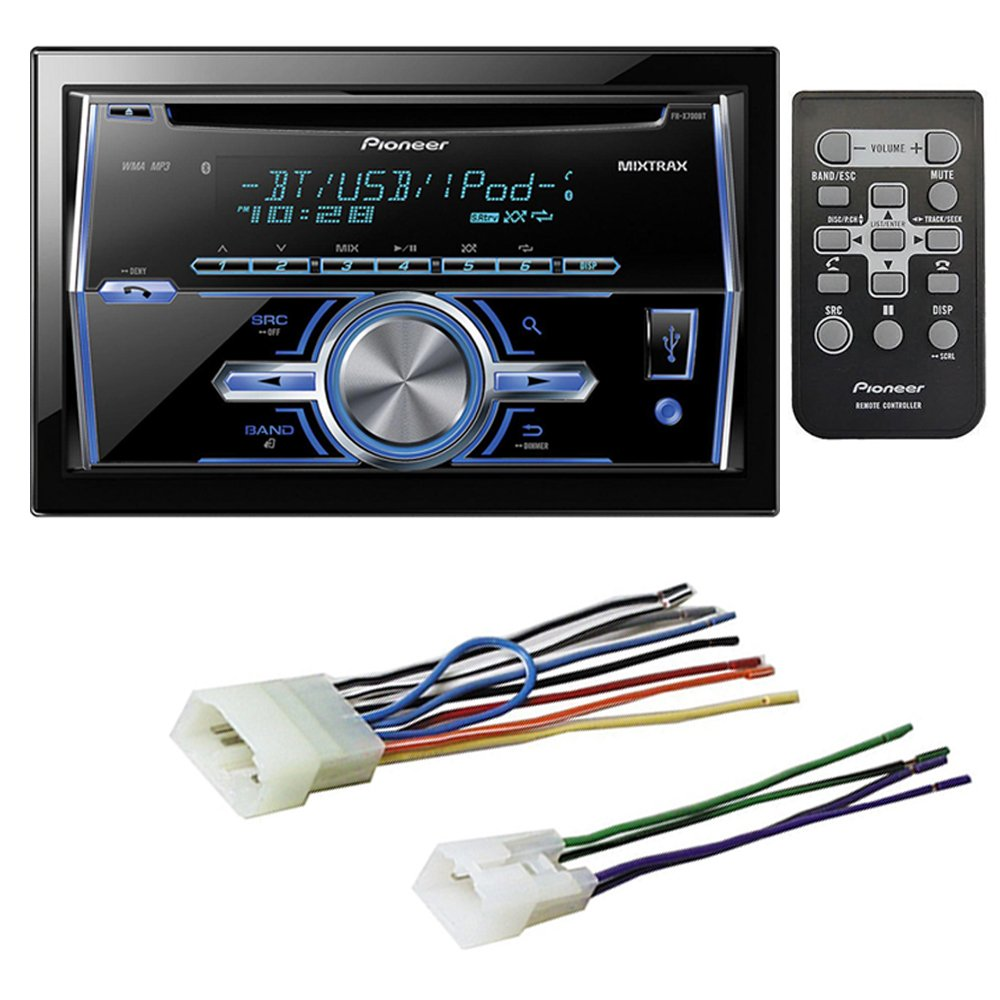 Toyota Car Stereo Cd Player Wiring Harness Wire Adapter Pioneer Deh 1000 Diagram For A Aftermarket Radio Electronics