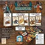 Steve Jackson Games Munchkin Steampunk Deluxe Card Game 7