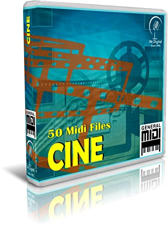 Cine - Pendrive USB OTG para Teclados Midi, PC, Móvil, Tablet, Módulo