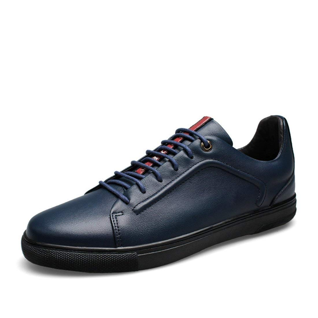 Dark bluee Qiusa Boy's Men's Tuber Comfortable Designer Sport Fashon Sneakers (color   Dark bluee, Size   5 UK)
