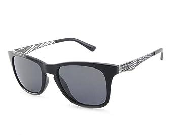 d5afdf5449 Pepper s Stellar Polarized Wayfarer Sunglasses Matte Black w. Antique  Silver Temples 52 mm