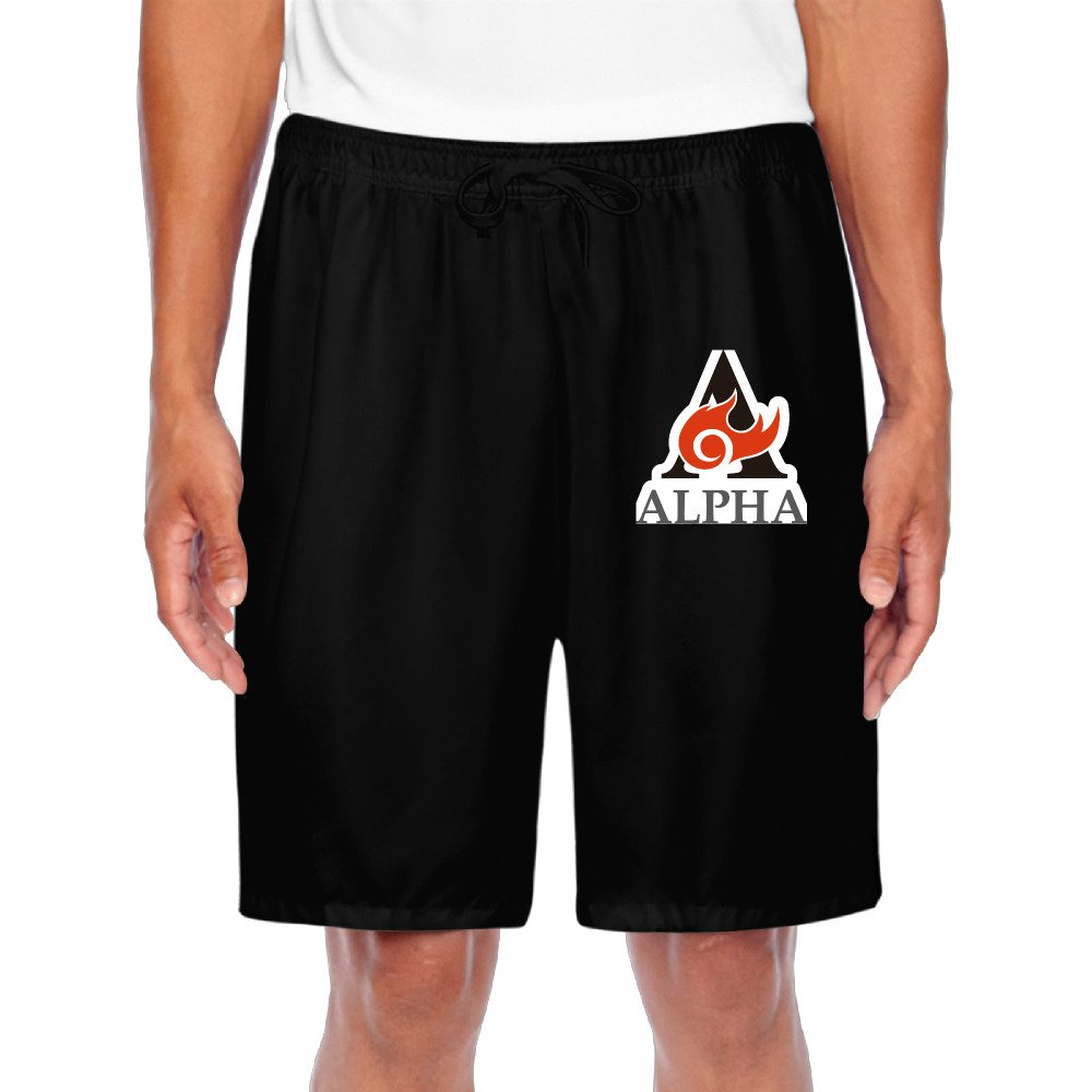 2017 Mens ALPHA A Character Cool Shorts Sweatpants Casual Shorts