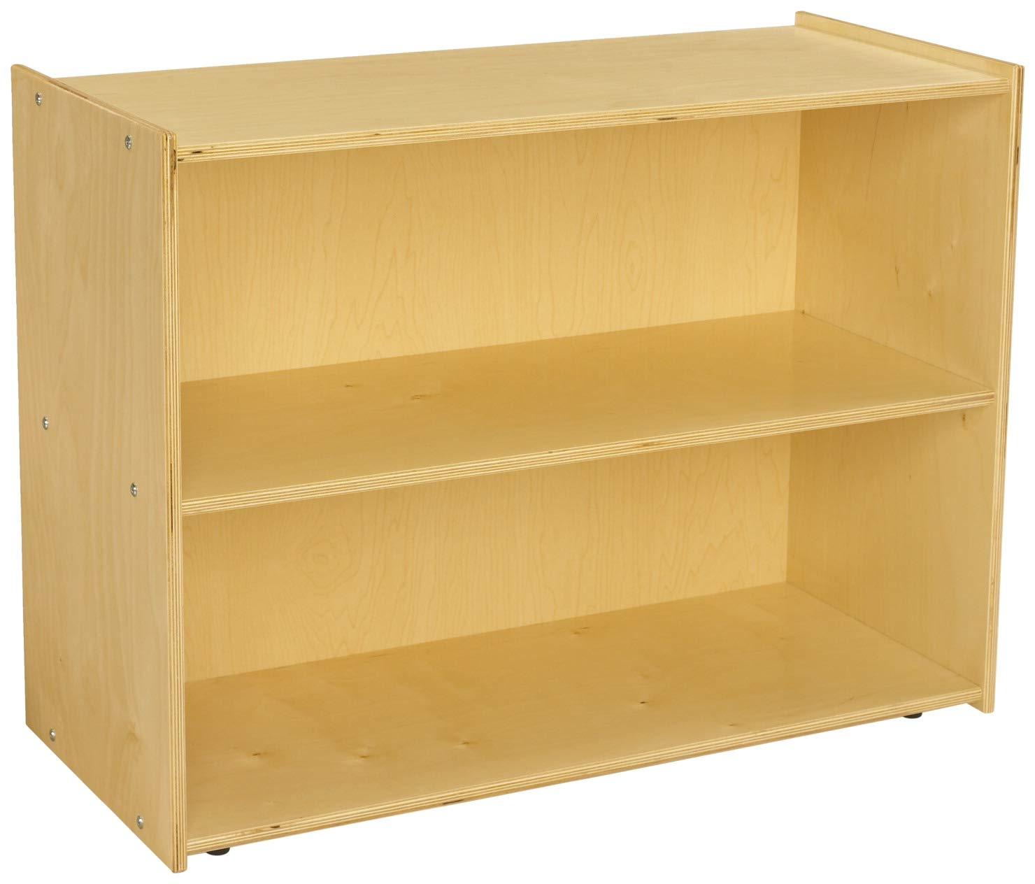 Childcraft ABC Furnishings 2-Shelf Deep Shelf Storage Units, 36 x 16 x 27-3/8 Inches