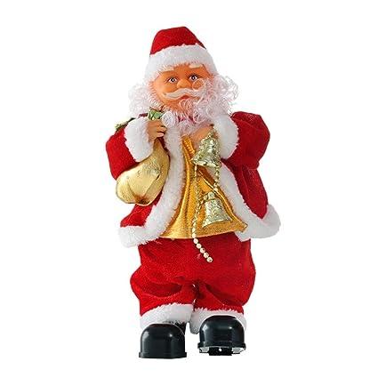 35bc5e2b8b3a8 Amazon.com  SUPVOX Dancing Singing Santa Claus Christmas Toy Doll Figure  Holiday Decor (Saxophone)  Toys   Games