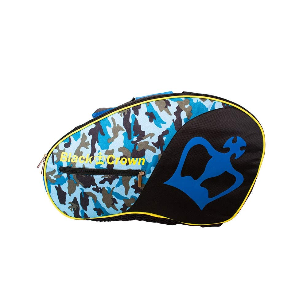 Amazon.com : BLACK CROWN Padel Bag - Military Blue Camouflage : Sports & Outdoors