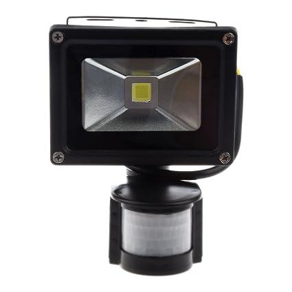 SODIAL(R) PIR sensor de movimiento de la pared de Seguridad Pure White luz