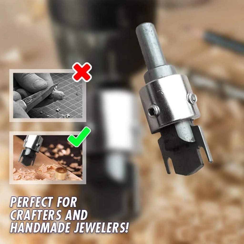 queue de foret + 4 forets Set foret en acier au carbone Outils multifonctionnels en bois de foret en acier /à grande vitesse danneau /épais en bois pour des artisans et des bijoux faits main
