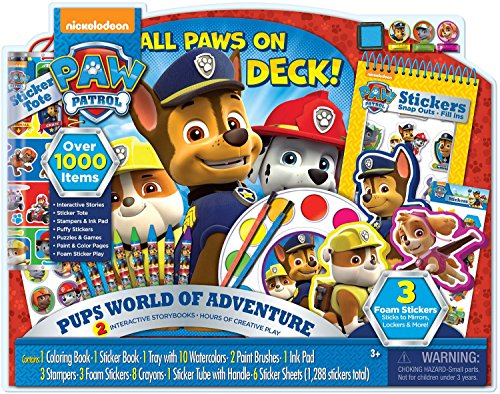 Paws Art (Bendon Paw Patrol Giant Art Activity Set)