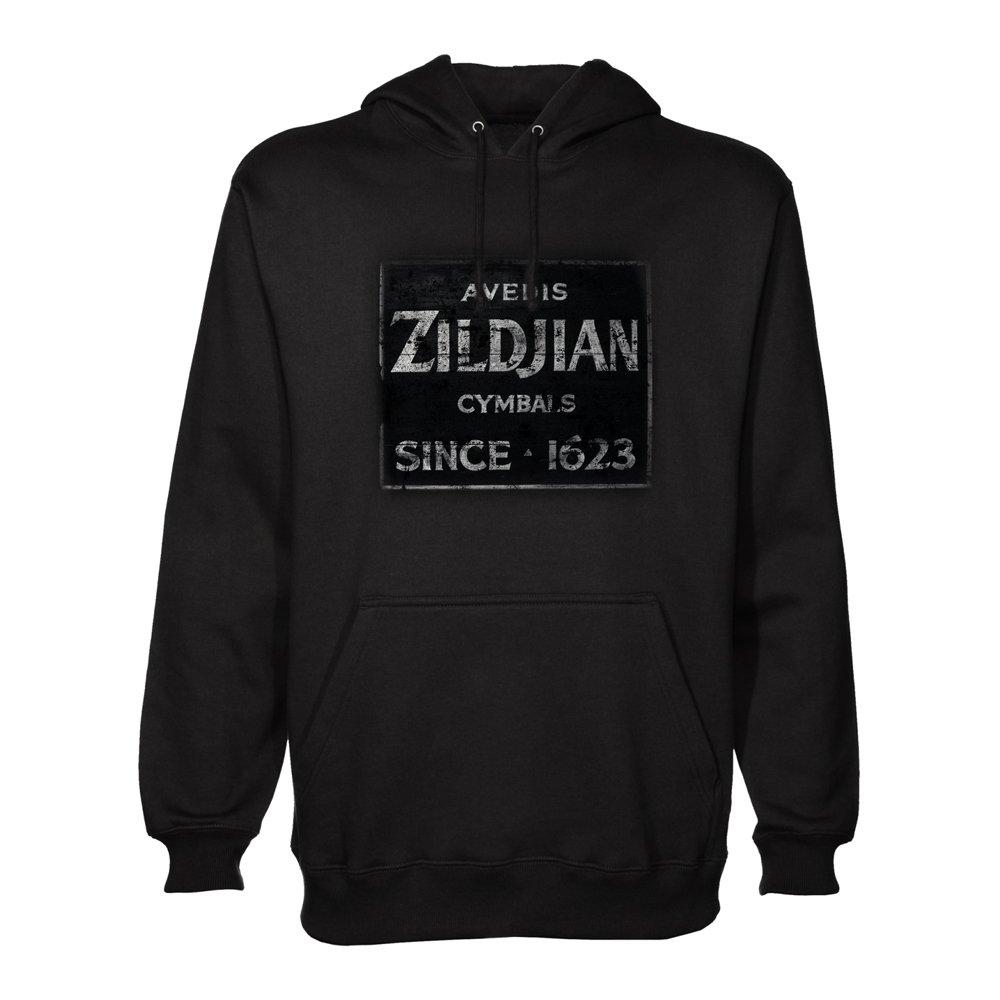 Zildjian Quincy Vintage Sign Pullover Hoodie - Large Avedis Zildjian Company T4623