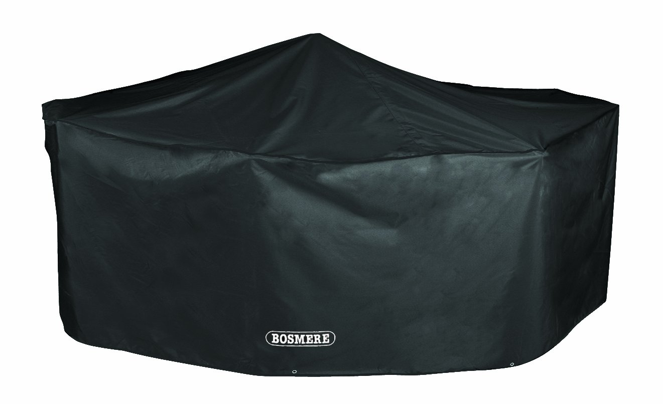 Bosmere D530 STORM BLACK 6 Seat Rectangular Patio Set Cover: Amazon.co.uk:  Garden U0026 Outdoors