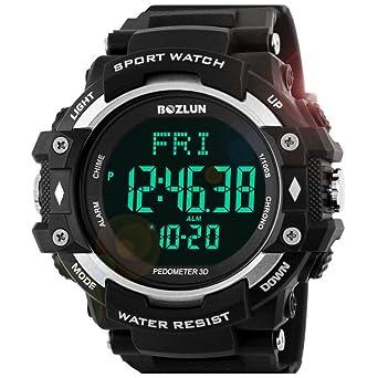 Hombre Smartwatch Electrónico Deportes Resistente al Agua Reloj ...