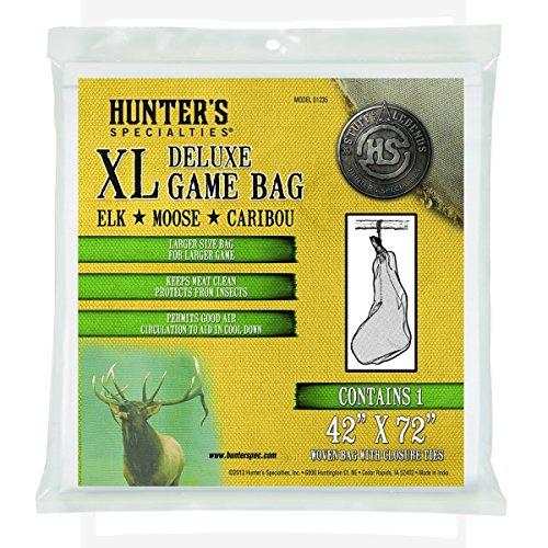 - Hunters Specialties Deluxe Field Dressing Bag, XL, 42x72