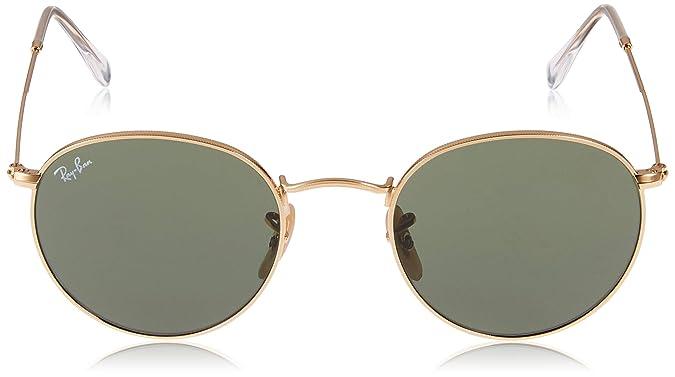 0f908947df Amazon.com  Ray-Ban ROUND METAL - ARISTA Frame CRYSTAL GREEN Lenses 47mm  Non-Polarized  Ray-Ban  Clothing