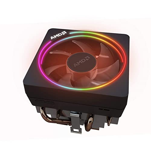 純正CPUクーラーでRGBライティングが楽しめる!AMD Wraith Prism Cooler