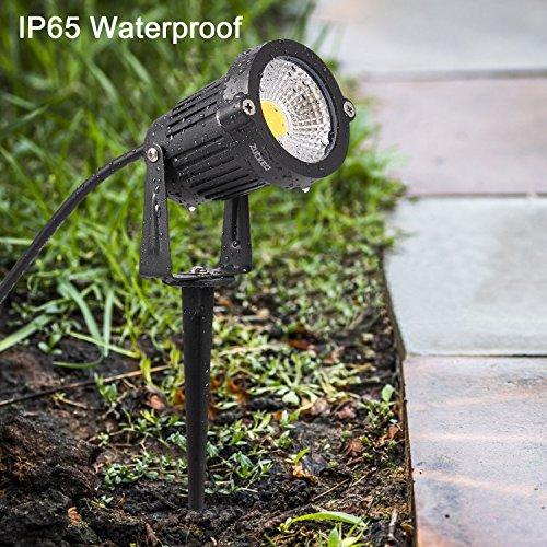 Zuckeo 5w Led Landscape Spotlight 12v 24v Low Voltage