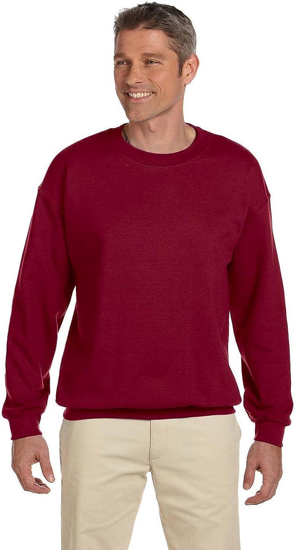 Gildan Herren Sweatshirt Heavy Blend Crewneck Violet