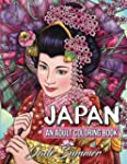 Japan: An Adult Coloring Book with Ja...