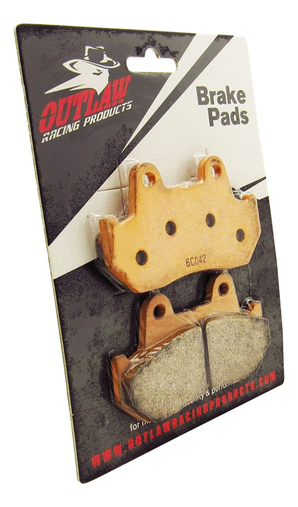Outlaw Racing OR69/2 Front or Rear Sintered Brake Pads Honda CB750C/F CB900C/F