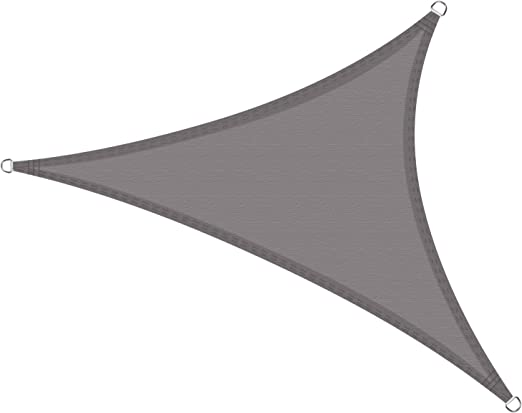 Cool Area Toldo Vela de Sombra Impermeable triángulo 3 x 3 x 3 ...