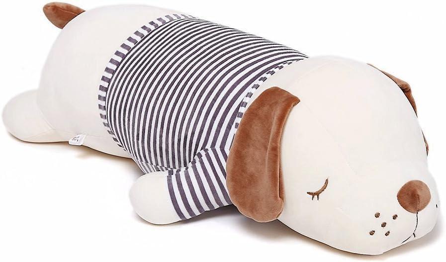Niuniu Daddy 20 inch Super Soft Plush Puppy Stuffed Animal Toy Plush Soft Dog Hugging Animal Puppy Shape Sleeping Kawaii Pillow