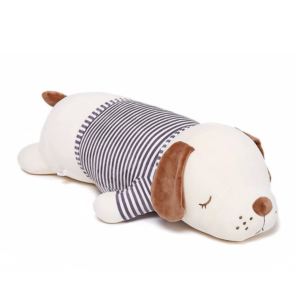 Niuniu Daddy 20 inch Super Soft Plush Puppy Stuffed Animal Toy Plush Soft Dog Hugging Animal Puppy Shape Sleeping Kawaii Pillow by Niuniu Daddy