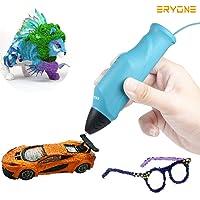 Pluma 3D, Eryone Pluma de impresión 3D, Impresora 3D, Compatible con PLA/PCL, Carga USB, Impresión a baja temperatura, Carga de filamento automáticamente, Impresora 3D para educación STEM