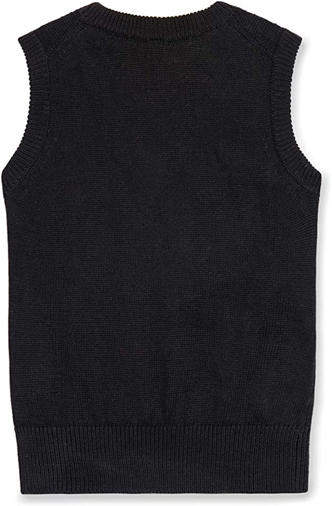 Benito /& Benita Boys Sweater Vest Kids V-Neck Uniform Pullover Cable Knit Sweater for Size 4-12Y