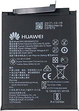 Huawei HB356687ECW - Batería original para Huawei Mate 10 Lite ...