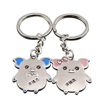 Kentop Couple Keychain Keyring Llavero Key Chian Conjunto ...