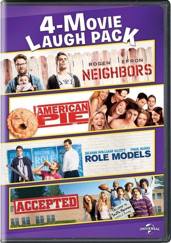 Neighbors / American Pie / Role Models / Accepted 4-Movie Laugh Pack (Widescreen Models)