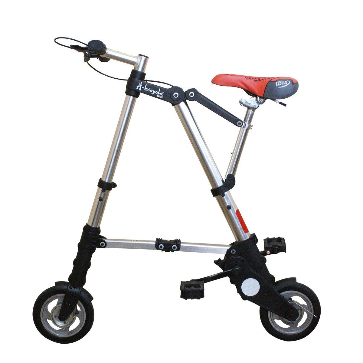 A-Bicycle(A-ライド型 Airbike)超軽量デラックス版折りたたみ自転車チューブレス仕様 B00RFOVLEI スタンダード スタンダード