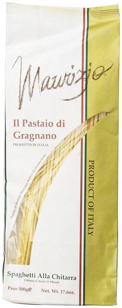 Maurizio - Italian Spaghetti Alla Chitarra, (4)- 17.6 oz. Pkgs.