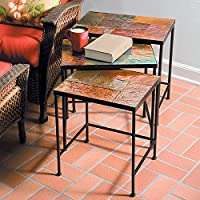 Meridian Slate Nesting Tables
