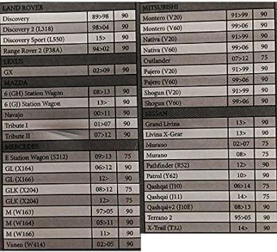 BARRE PORTATUTTO PACCHI AUTO HERCULES SG 120CM ALLUMINIO X FORD FOCUS SW 08/>11