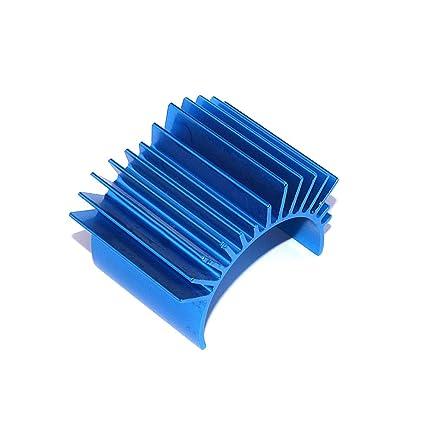 Goolsky 1pcs Refrigerador de radiador de aluminio azul accesorio del asiento de calor para el coche