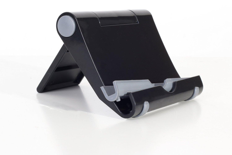 Color Negro 7-10 pulgadas IBRA/® Multi-/ángulo de soporte port/átil para Tablets Smartphones