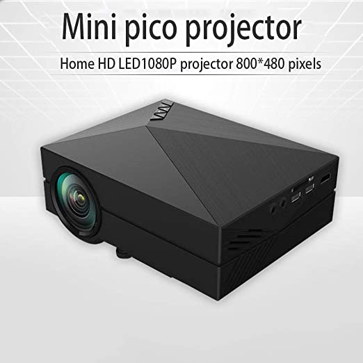 HKYMBM Mini Micro Proyector, Proyector HD LED1080P para El ...