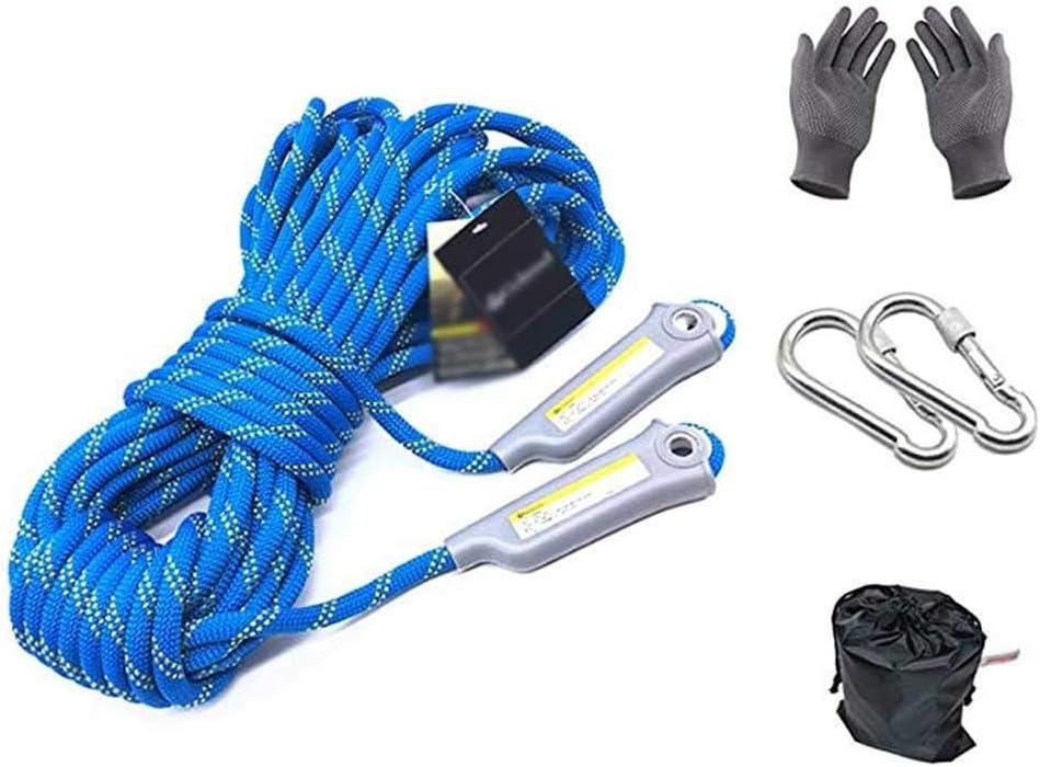 CHQYY Cuerda de cáñamo- cuerda 100m, cuerda de seguridad de ...