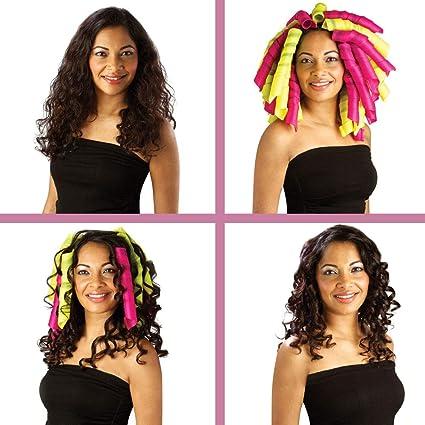 4cbc85d386a5 Curlformers originaux et brevetés - Kit complet pour cheveux longs boucles  extra larges  Amazon.fr  Hygiène et Soins du corps
