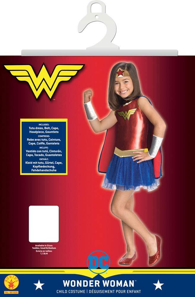 Rubies I-881629L - Disfraz de la Mujer maravilla, niña, talla L ...