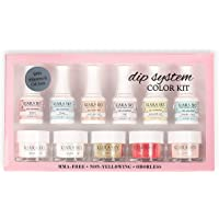 Kiara Sky Dip System Colour Starter Kit - With Clear Coat