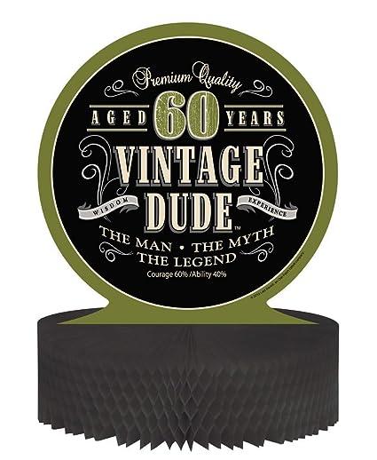 Amazon Creative Converting Vintage Dude 60th Birthday