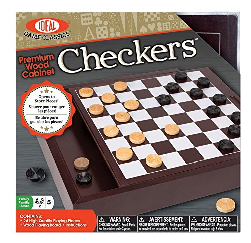 Ideal Premium Wood Cabinet Checkers