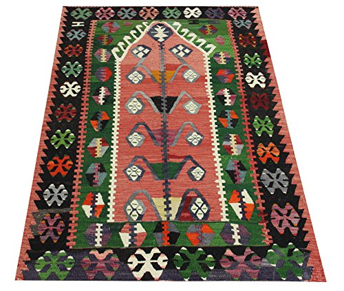 Decorative Small Kilim rug 3,1x2,8 feet Area rug Old rug Nomadic Kilim Rug Throw kilim rug Floor Kilim Rug Turkish Rugs Room Decor