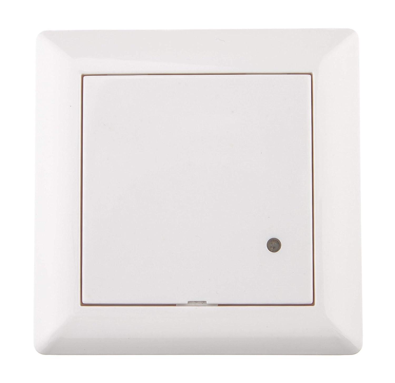Negro 0.90 W 180//° 230.00 voltsV instalaci/ón rasante bajo consumo Color blanco Huber Motion Detector de movimiento
