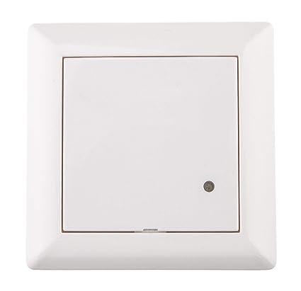 Huber Motion Detector de movimiento, 180 °, Color blanco, instalación, rasante,