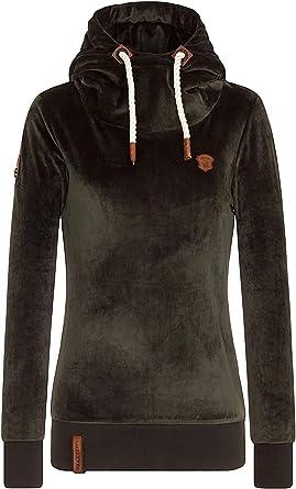 Naketano Female Hoody Schmierlappen Black, XL: Bekleidung